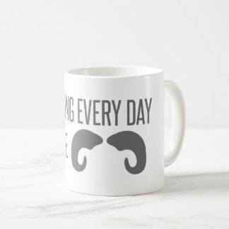 Grabbing Every Day By The Horns! Coffee Mug
