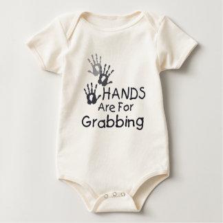 Grabbing Hands Baby Bodysuit