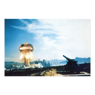 Grable Event Operation Upshot Knothole Atomic Test Photo Print