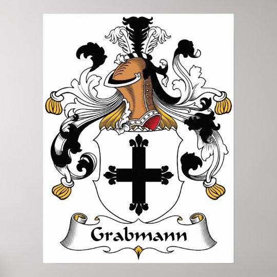 Grabmann Family Crest Poster
