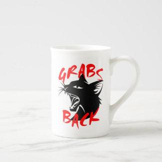 Grabs Back Bone China Mug