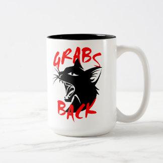 Grabs Back Large Mug