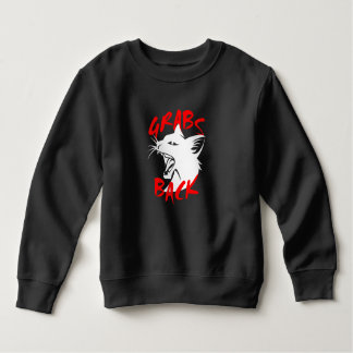 Grabs Back Toddler Dark Sweatshirt