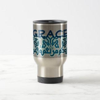 Grace arabic travel mug