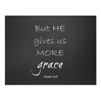 Grace Bible Verse Postcard