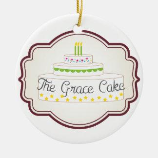 Grace Cake Ornament