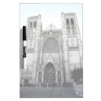 Grace Cathedral Dry Erase Board