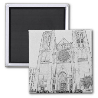 Grace Cathedral Magnet