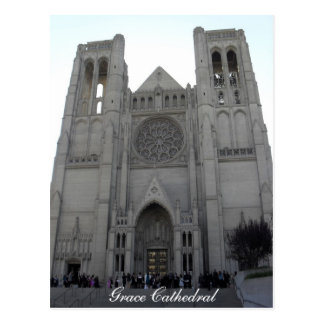 Grace Cathedral Postcard