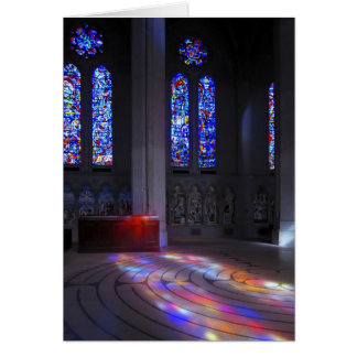 Grace Cathedral Walking Labyrinth Card