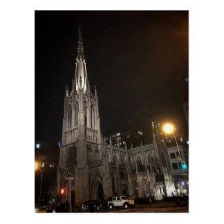 Grace Church Glowing in the dark Postcard