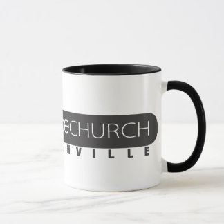 Grace Church - Ringer Mug (Black)