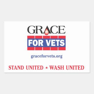 Grace For Vets Sticker