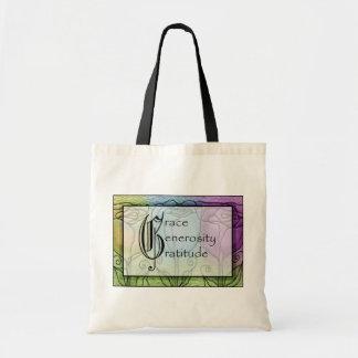 Grace Generosity Gratitude Tote Bag