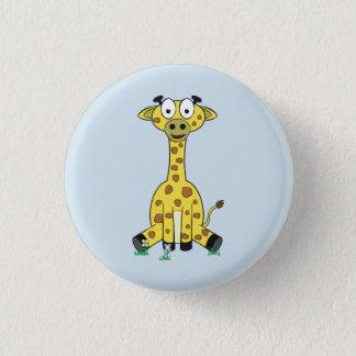 Grace Giraffe Badge 1 Inch Round Button
