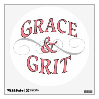 Grace & Grit girl power Wall Decal