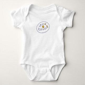 Grace Happens Baby Bodysuit