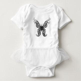 Grace in Black Baby Bodysuit