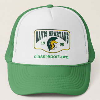 Grace M. Davis Green Spartain Hat