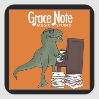 Grace Note Dinosaur Stickers