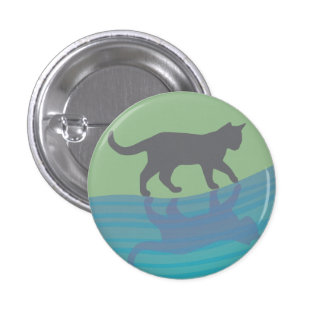 Grace of the River 1 Inch Round Button