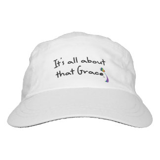 Grace Rainbow Butterfly Hat, White Hat