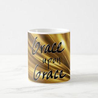 Grace Upon Grace Gold Mug