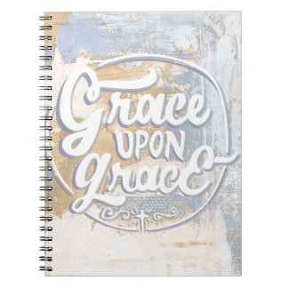 Grace upon Grace Spiral Note Book
