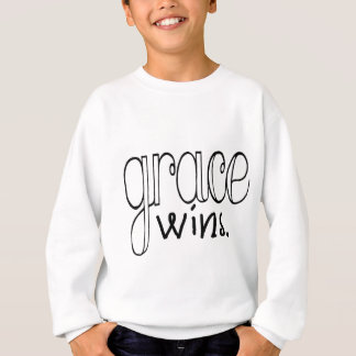 Grace Wins (Black) Sweatshirt