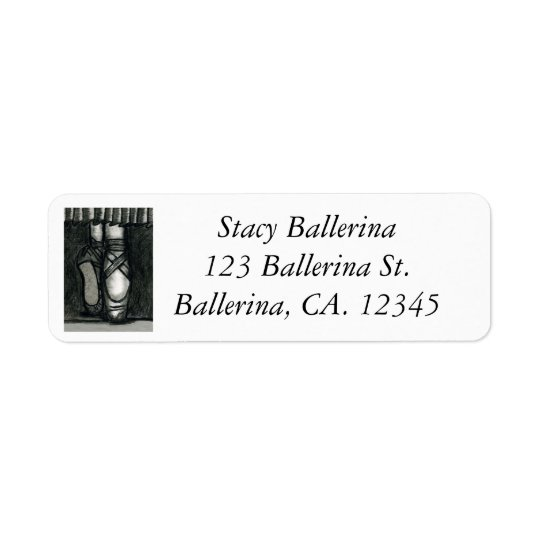 Graceful Balance Return Address Label
