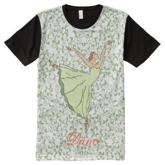Graceful Ballerina All-Over-Print T-Shirt