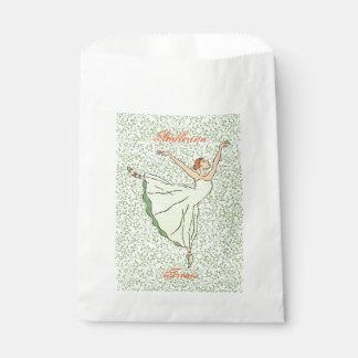 Graceful Ballerina Favour Bag