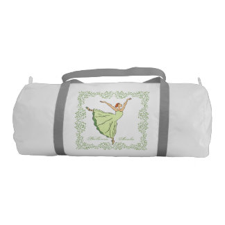 Graceful Ballerina Gym Bag
