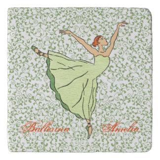Graceful Ballerina Trivet