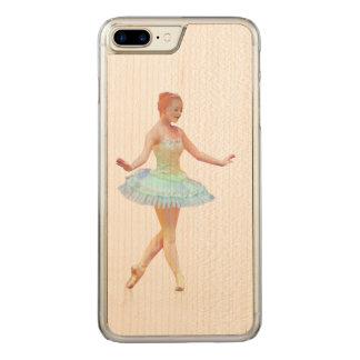Graceful Ballerina with Red Hair Carved iPhone 7 Plus Case