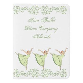 Graceful Ballerinas Dance Extra Large Moleskine Notebook