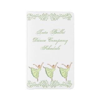 Graceful Ballerinas Dance Large Moleskine Notebook