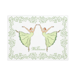Graceful Ballerinas Doormat