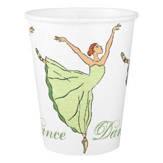 Graceful Ballerinas Paper Cup