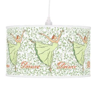 Graceful Ballerinas Pendant Lamp
