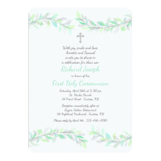 Graceful Branches Religious Invitation