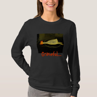 Graceful Chicken Long Sleeve T-Shirt