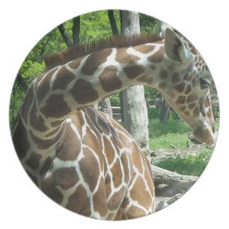 Graceful Giraffe Plate