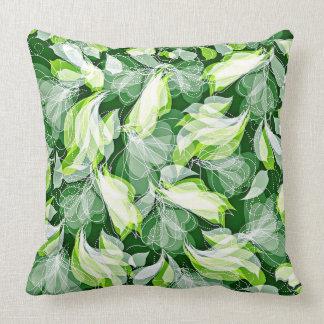 """Graceful Green Pillow 20"""" x 20"""""""