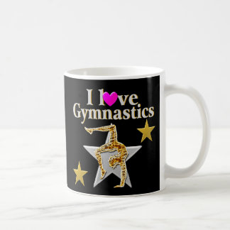 GRACEFUL GYMNAST GIRL COFFEE MUG