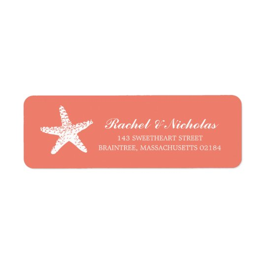 Graceful Starfish | Return Address