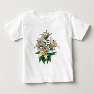Graceful White Lilies Kids Baby T-Shirt