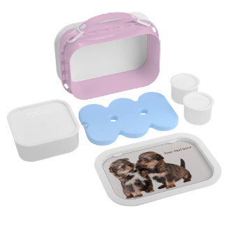 Graceful Yorkshire Puppies Lunch Box