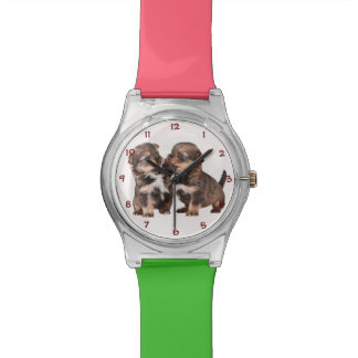 Graceful Yorkshire Puppies Wrist Watches