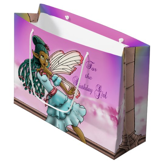 Gracefulness Gift Bag - Large, Glossy, Fairy